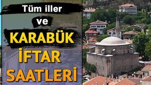 Günlük ve haftalık Karabük iftar saatleri Karabük'da iftar saati kaçta olacak