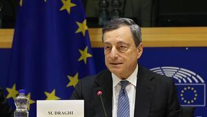 Draghiden Euro bölgesi açıklaması