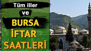 Günlük ve haftalık Bursa iftar saatleri Bursa'da iftar saati kaçta olacak