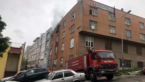 Ankarada iş yeri yangını