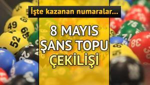 8 Mayıs Şans Topu sonuç sorgulama ekranı |  Şans Topu devretti
