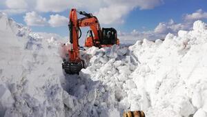 Kardan kapalı Selim-Göle karayolu, 6 ay sonra açıldı