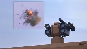 Türkiyenin yeni silahından ilk görüntüler