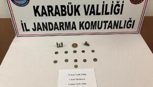 Safranboluda tarihi eser operasyonu: 3 gözaltı