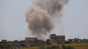 Rejim güçlerinden İdlib Gerginliği Azaltma Bölgesine geniş çaplı saldırılar