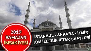Gaziantepte iftar saat kaçta yapılacak 9 Mayıs Gaziantep iftar saati ve il il imsakiye bilgileri