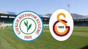 Çaykur Rizespor Galatasaray maçı ne zaman saat kaçta ve hangi kanalda