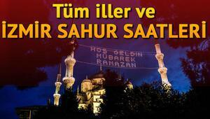 İzmirde sahur saat kaçta yapılacak  İzmir ve diğer iller için sahur saatleri
