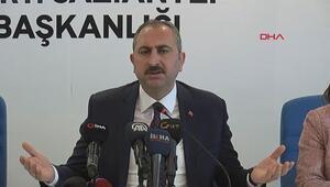 Adalet Bakanı Abdulhamit Gül açıklama yaptı