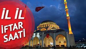 İstanbulda iftar saat kaçta yapılacak İl il iftar saatleri