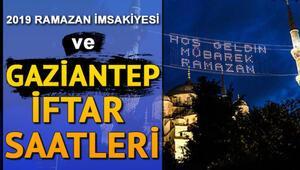 Gaziantepte iftar bugün saat kaçta yapılacak İl il iftar ve sahur saatleri (2019 imsakiye)