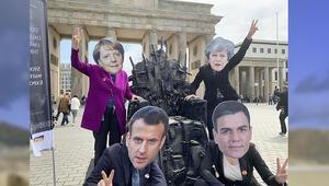 Berlin'de protesto: Yemen'deki felakette Almanya da sorumlu