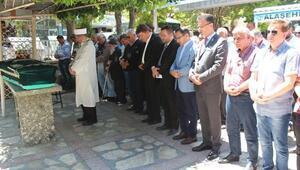 Alaşehir Belediyesi eski Başkanı Necipoğlu, son yolculuğa uğurlandı