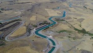 Diyarbakırda 218 kilometrelik yapay nehirde sona doğru