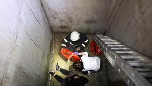 Asansör boşluğuna düşen 2 kadının vücutlarında kırıklar var