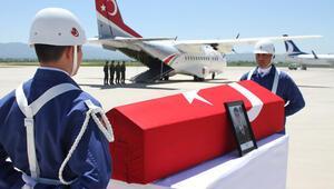 Elazığda şehit asker için tören düzenlendi
