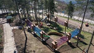 Orduda Macera Park hizmete açıldı
