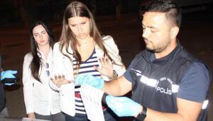 Turistlerin hırsızlık tezgahını polis bozdu