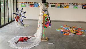 Bu bienalin sanatçıları çocuklar oldu