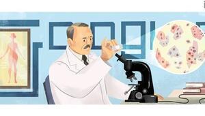 Googledan Pap smear testini bulan Georgios Papanikolaou doodleı