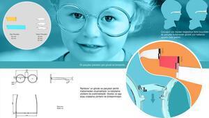 Renk değiştirebilen, çocukla büyüyen gözlük projesine ödül