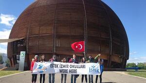 İstekli öğrenciler CERNde