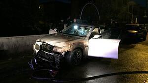 Ankarada lüks araç kundaklandı... Sahurdan sonra balkona çıktığında şoke oldu