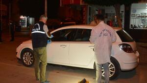 Hırsızlık şüphelisi, otomobilde suçüstü yakalandı