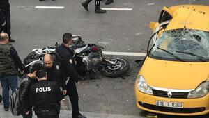 Yunus polisinin şehit olduğu kazada taksici asli kusurlu çıktı
