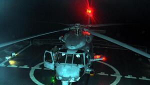 Denizkurdu-2019da üçüncü gün; Helikopterler gücünü gösterdi