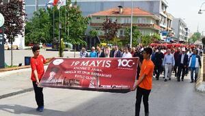 Altınova'da Gençlik Yürüyüşü yapıldı