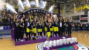Fenerbahçe, 14. kez şampiyon oldu
