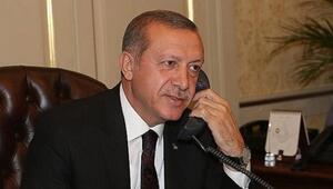 Cumhurbaşkanı Erdoğan, Azerbaycan ve Özbekistan Cumhurbaşkanları ile telefonda görüştü