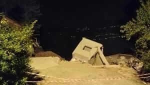 Orduda heyelanda 15 binanın çöktüğü mahalleye giriş yasak