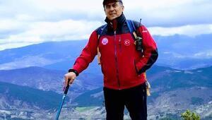 Orhanelide dağcılık tutkunu eğitimci kalp krizinden öldü