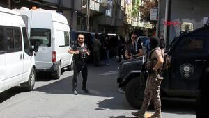 Okmeydanında terör operasyonu: Çok sayıda gözaltı