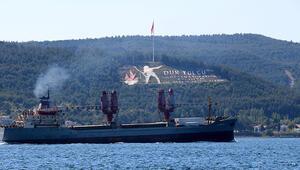 Rus askeri kargo gemisi, Çanakkale Boğazından geçti