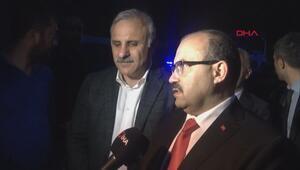 Trabzon Valisi İsmail Ustaoğlu olay yerinde açıklama yaptı