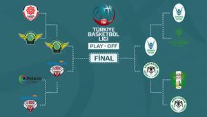 TBLde play-off yarı finalleri netleşti