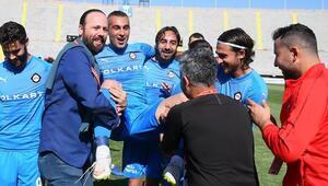 Altayda Murat Uluça 4 gollü veda