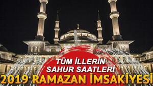Bu gece sahur saat kaçta yapılacak İstanbul, Ankara, İzmir ve diğer iller için 2019 sahur vakitleri