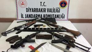 Diyarbakırda silah kaçakçılarına operasyon: 7 gözaltı