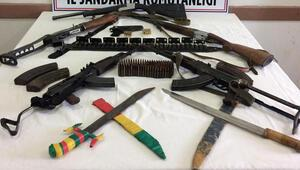 Diyarbakırda silah kaçakçılarına operasyon