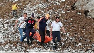 Artvin'de feci ölüm Uçuruma yuvarlandı…