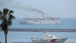 İstanbuldan yola çıkan gemi Samsuna ulaştı