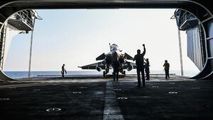 Fransız savaş uçakları Endonezyaya acil iniş yaptı