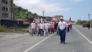 19 Mayısın 100üncü yılında Hopadan Atatepeye yürüdüler