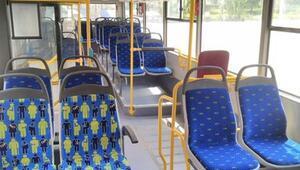 Ayrılmış koltuklara özel desen uygulaması