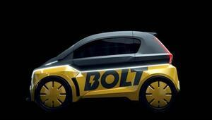 Rekortmen atlet Usain Bolt, elektrikli otomobil tanıttı