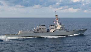 ABD destroyerinden Güney Çin Denizinde tartışma yaratacak geçiş